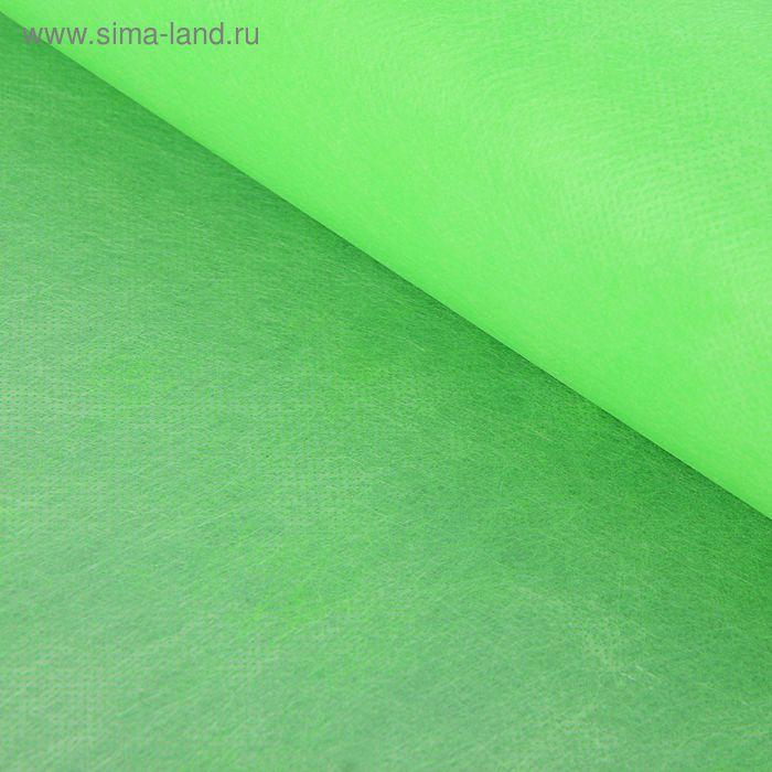 Фетр однотонный салатовый, 50 см х 20 м