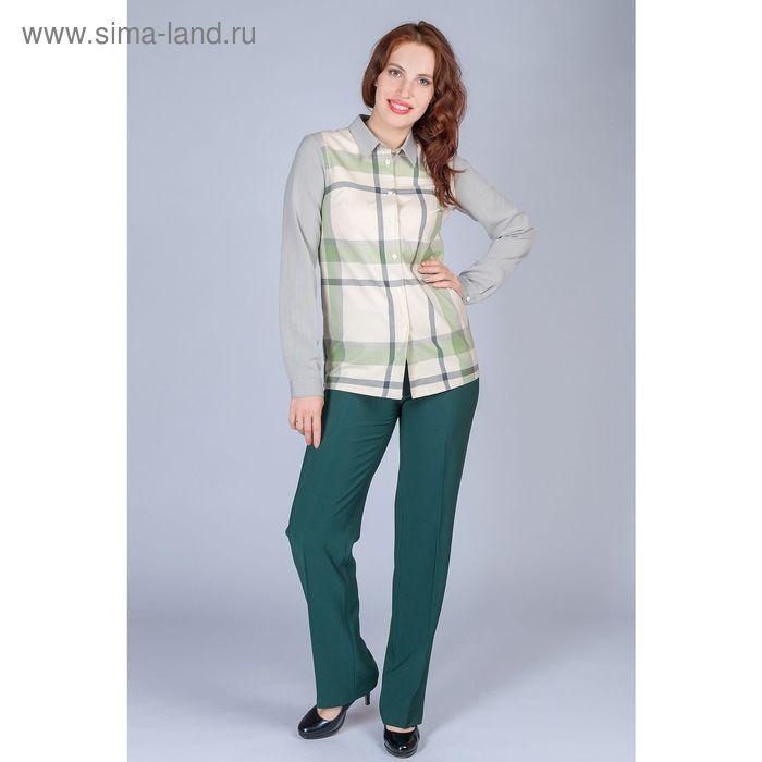 Брюки женские, размер 62, рост 170 см, цвет зелёный (арт. B5171-0839 С+)