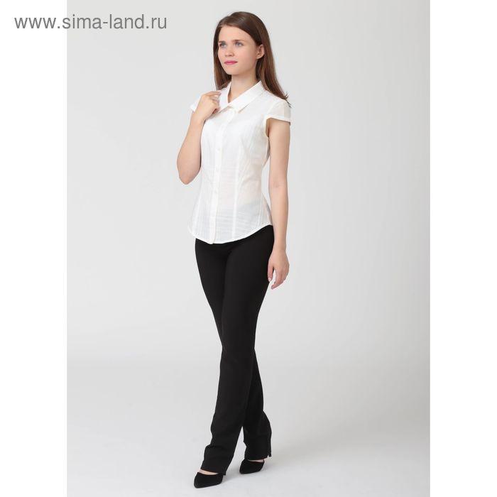 Блуза женская, размер 52, рост 170 см, цвет белый (арт. B1171-0880 С+)