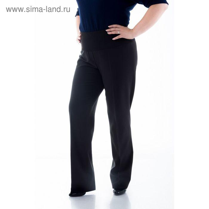 Брюки женские, размер 58, рост 170 см, цвет чёрный (арт. 5900402 С+)