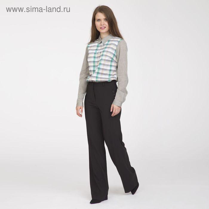 Блуза женская, размер 48, рост 170 см, цвет серо-зелёный (арт. Y1112-0171)