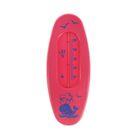 Термометр водный «Сувенир. В-1», цвет малиновый, рисунок «Кит»
