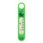 Термометр водный «Сувенир. В-2», цвет салатовый, рисунок «Кит»