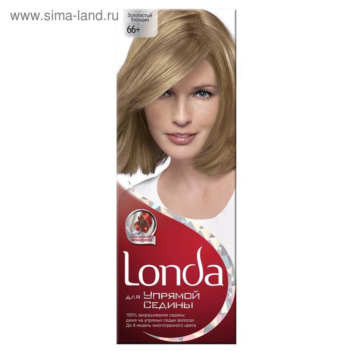 """Крем-краска для волос Londa """"Для упрямой седины"""", золотистый блондин, 60 мл"""