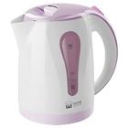 Чайник электрический Home Element HE-KT156, 2200 Вт, 2 л, белый/фиолетовый