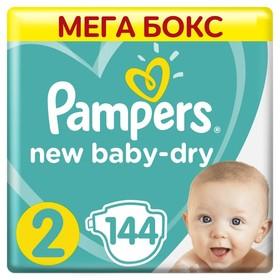 "Подгузники Pampers New Baby ""Памперс Нью Бэби"" 2 Mini (3-6 кг), 144 шт"