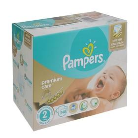 Подгузники Pampers Premium Care Mini 3–6 кг, 148 шт