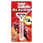 Бритвенный станок Gillette Slalom, красный, с одной сменной кассетой