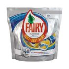 Капсулы Fairy Platinum All in 1 для посудомоечных машин, 10 шт