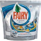 Капсулы Fairy Platinum All in 1 для посудомоечных машин, 20 шт