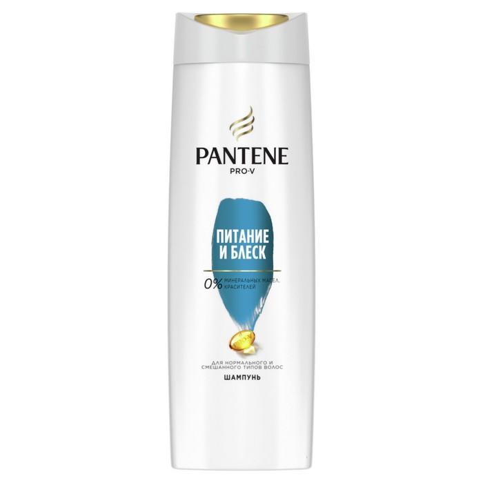 """Шампунь Pantene Pro-V """"Питание и блеск"""" для нормальных волос, 400 мл"""