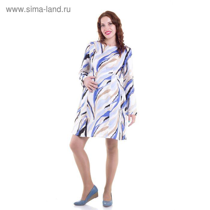 Платье для беременных, размер 44, рост 168 см, цвет голубой (арт. 51474163)