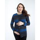 Кардиган для беременных, размер 44, рост 168 см, цвет синий (арт. 31320483)