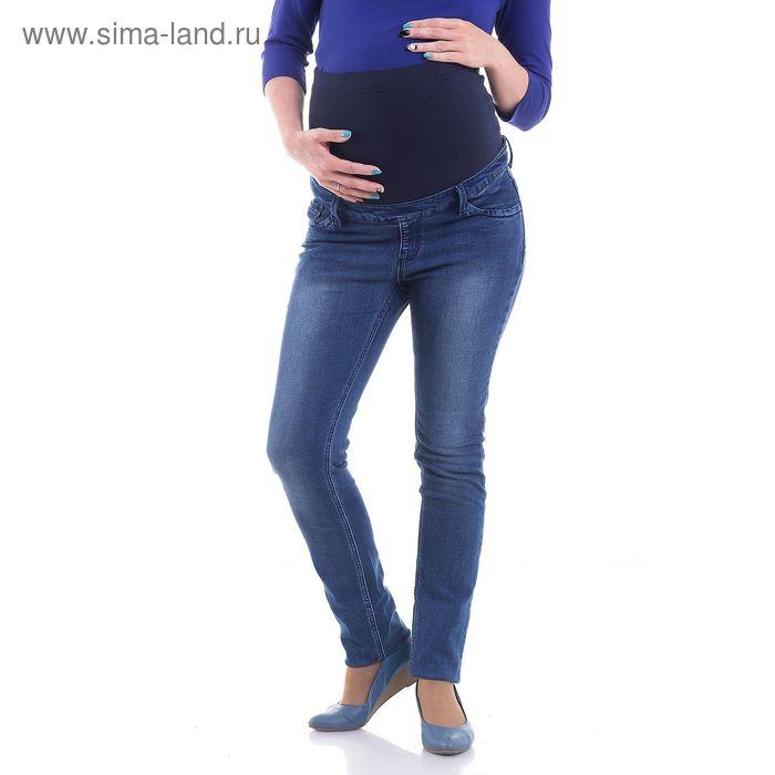 Джинсы для беременных, размер 42, рост 168 см, цвет синий (арт. 12444204)