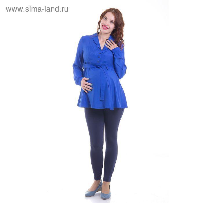 Блузка для беременных, размер 44, рост 168 см, цвет синий (арт. 31765413)
