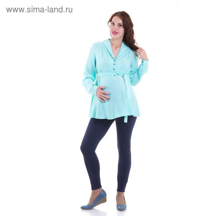 Блузка для беременных, размер 44, рост 168 см, цвет зелёный (арт. 31765444)