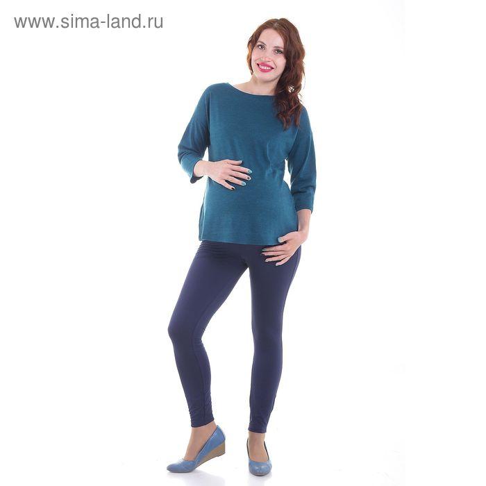 Джемпер для беременных, размер 52, рост 168 см, цвет зелёный (арт. 350411624)