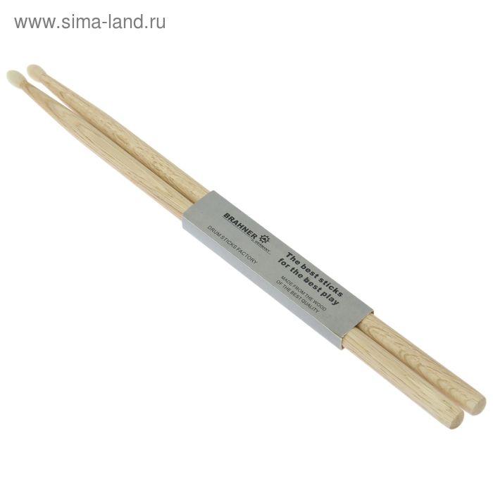 Барабанные палочки Brahner 5AN дуб нейлоновый наконечник