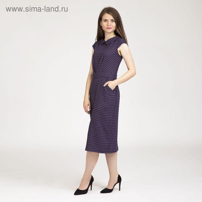 Платье женское, размер 46, рост 170 см, цвет принт (арт. Y4071-0303)