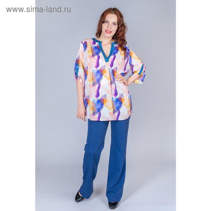 Блуза женская, размер 52, рост 170 см, цвет МИКС (арт. B1398-0873 С+)