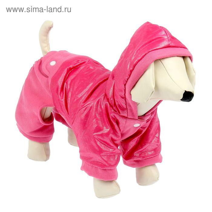 """Комбинезон """"Блеск"""", размер L (ДС 26 см, ОГ 41 см), розовый"""