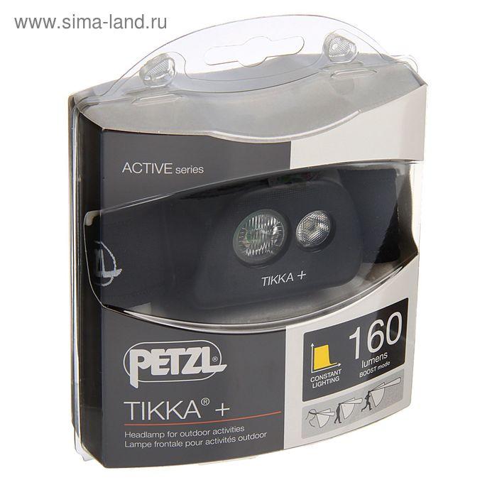 Фонарь налобный Petzl TIKKA +, чёрный