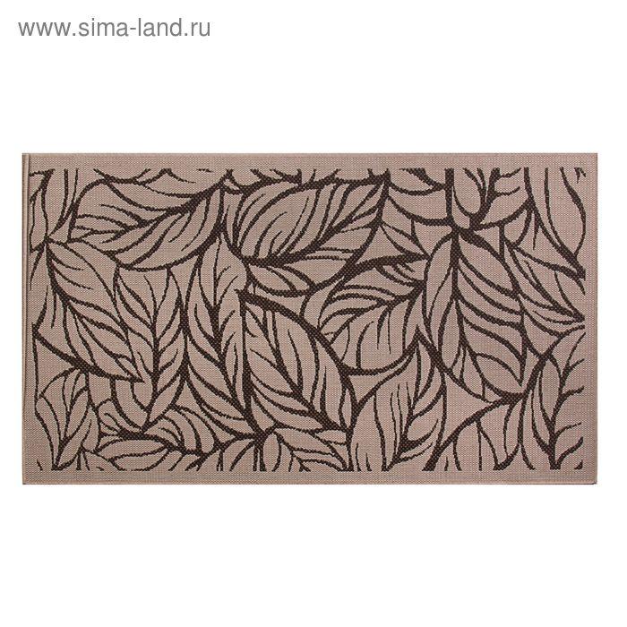 Циновка Flat 11 Шоколад sz2233c2, размер 80х150 см, ворс 100% ПП