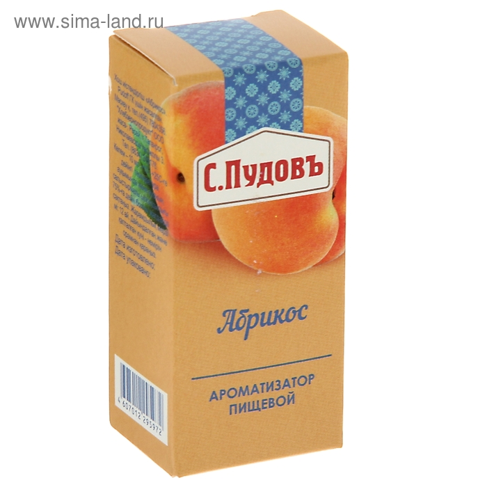 Ароматизатор Абрикос 10 гр. С.Пудовъ