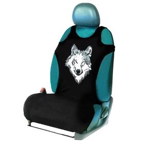 """Чехол-майка """"Волк"""", на переднее сиденье, хлопок"""