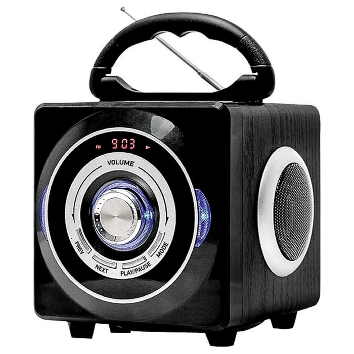 Аудиомагнитола BBK BS 03 BT, черный