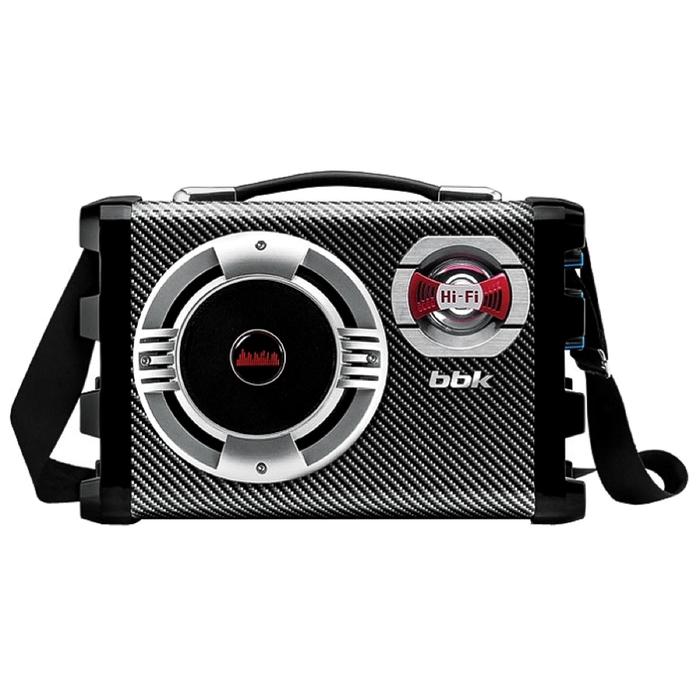 Аудиомагнитола BBK BS 06 BT, черный