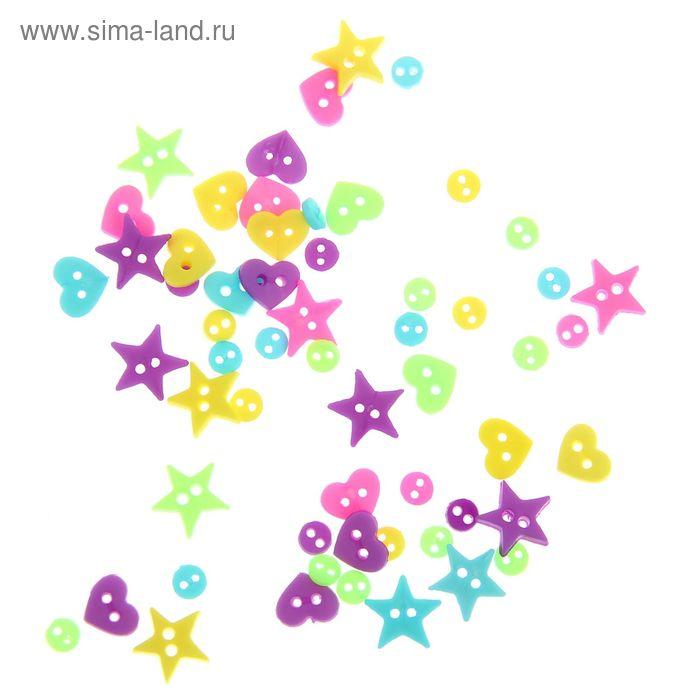 """Декор для творчества """"Мини-фигурки неоновые"""""""