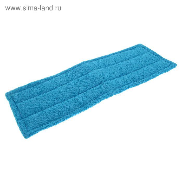 Насадка для швабры с поролоном, 14х44 см, цвет голубой