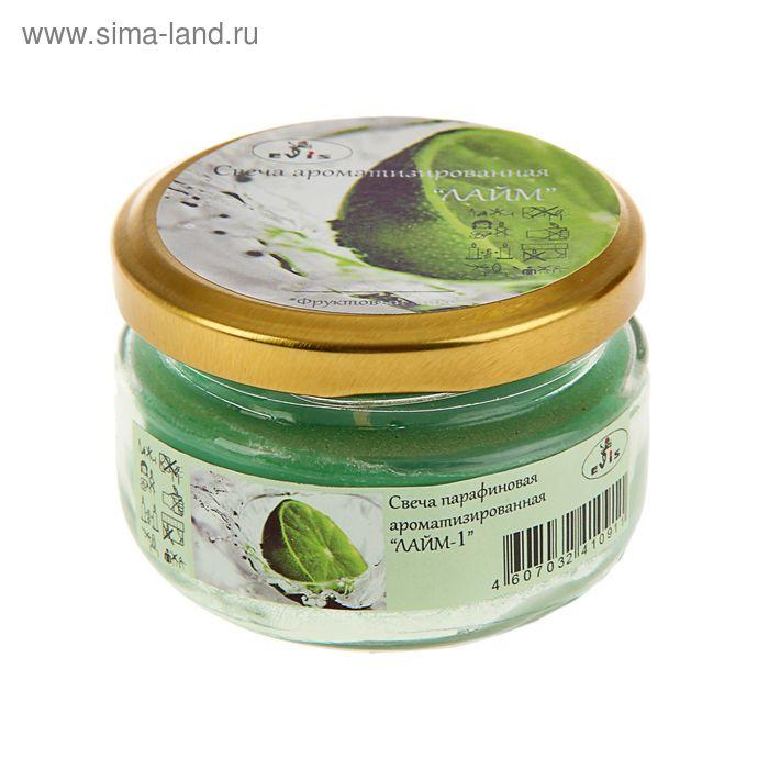 Свеча парафиновая ароматизированная «Лайм»