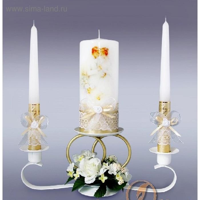 Набор свечей молодожены
