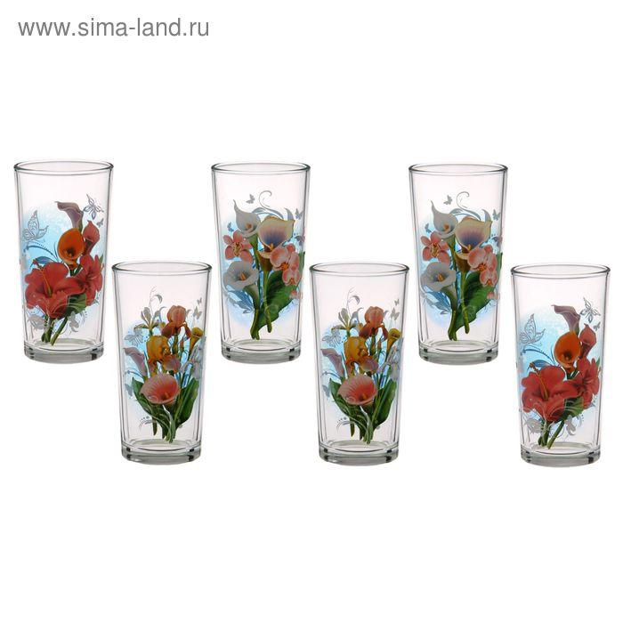 """Набор стаканов 230 мл """"Вдохновение"""", 6 шт, цвет МИКС"""