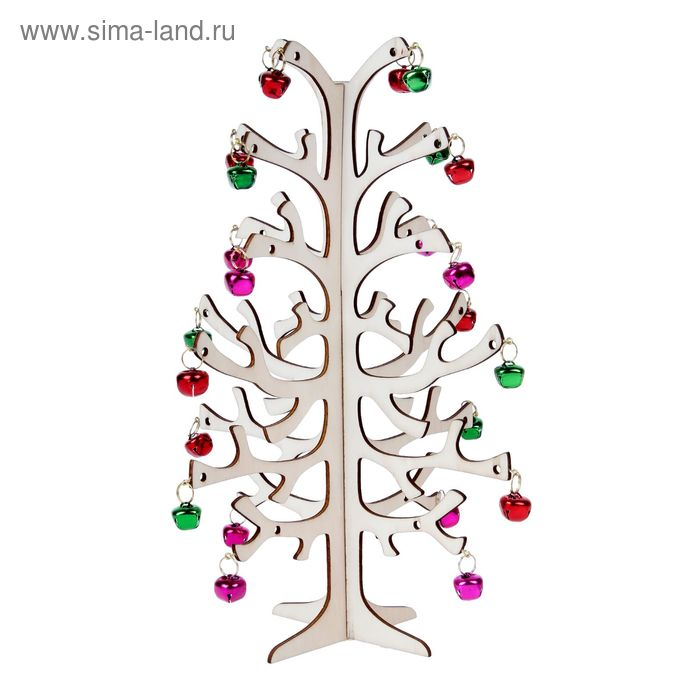 """Декор под роспись """"Дерево с подарками"""""""
