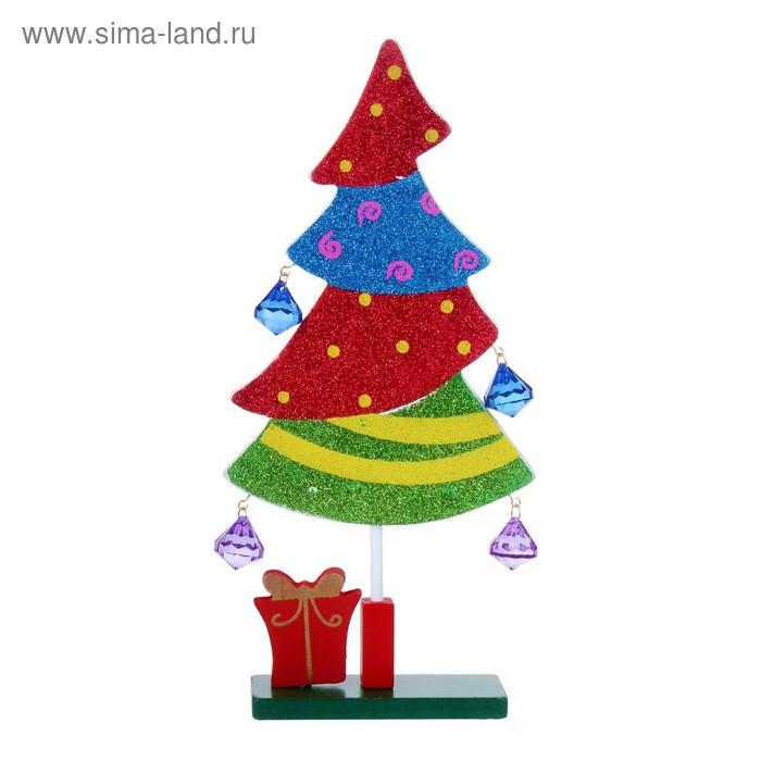 """Сувенир новогодний на подставке """"Подарки под ёлочкой"""""""