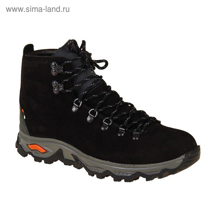 Ботинки TREK Викинг 81-46 мех (нубук черный) (р.41)