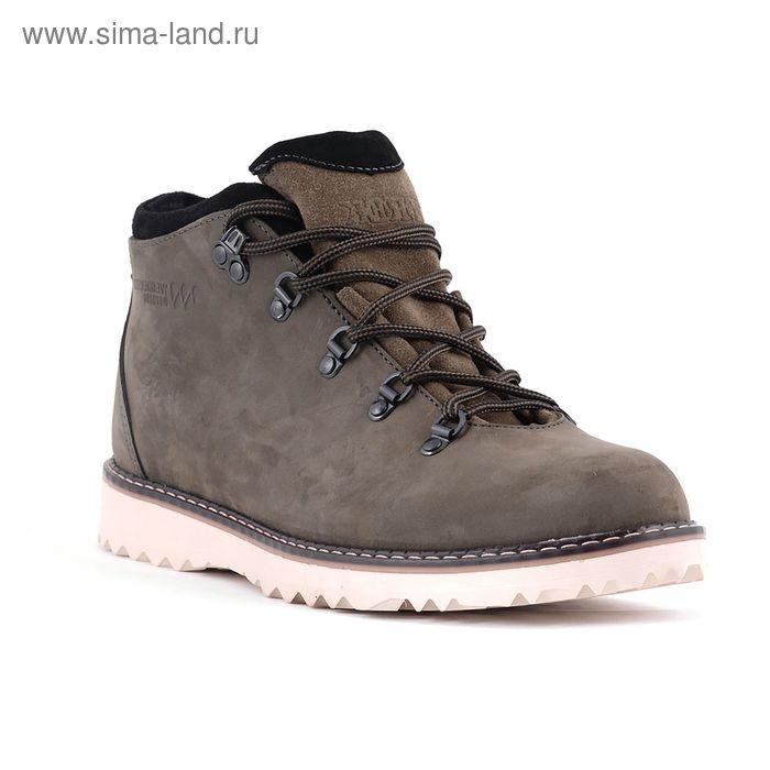 Ботинки TREK Парк 95-22 мех (темно-болотный) (р. 45)