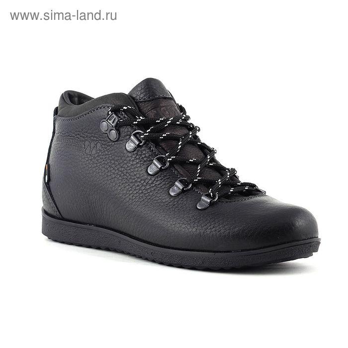 Ботинки TREK Спорт 77-56 капровелюр (черный) (р.38)