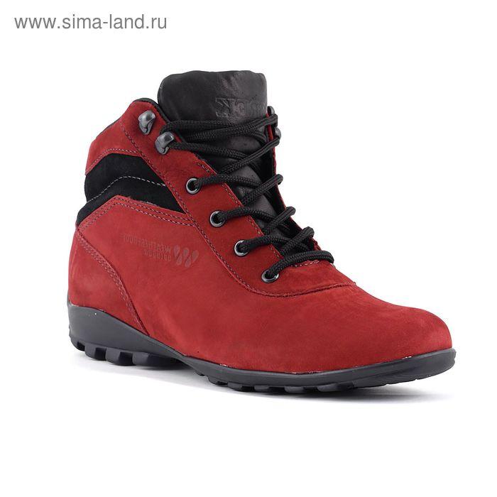 Ботинки TREK Спринт 93-19 мех (темно-красный) (р.40)