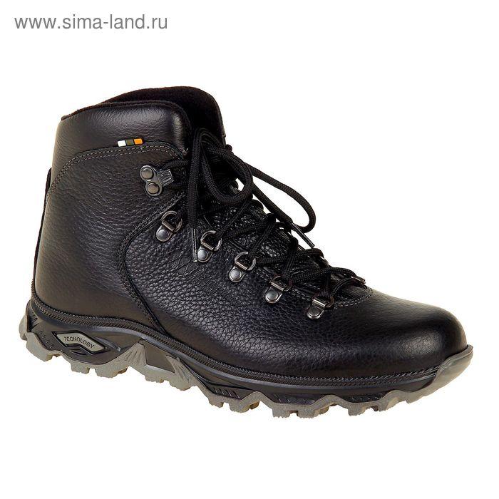 Ботинки TREK Хайкинг 36-01 капровелюр (черный) (р.41)