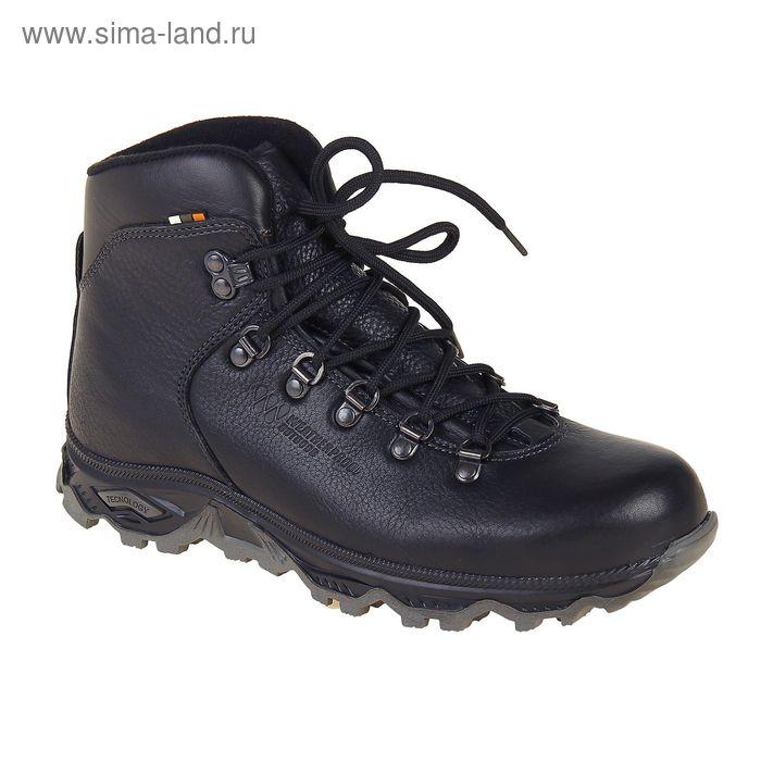 Ботинки TREK Хайкинг 36-01 мех (черный) (р.45)