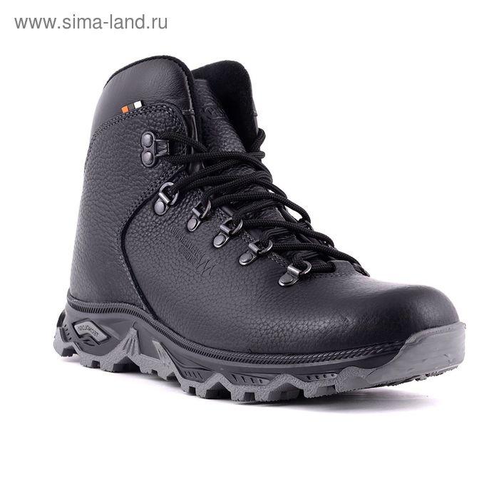Ботинки TREK Хайкинг 36-01 мех (черный) (р.40)