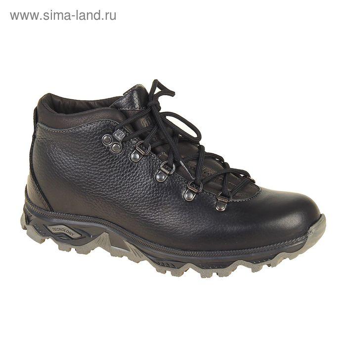 Ботинки TREK Анды 95-01 мех (черный) (р.43)