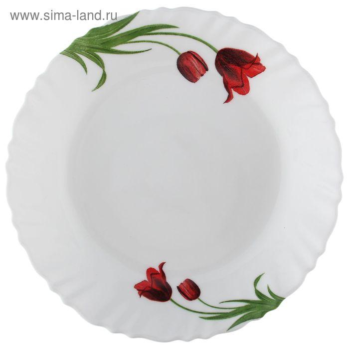 Тарелка десертная d=19 см Tulipe