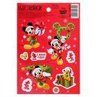 """Наклейки детские """"С Новым годом!"""" : Микки Маус и друзья, 11 х 16 см"""