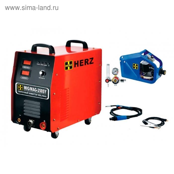 Аппарат сварочный для электродуговой сварки  HERZ MIG/MAG-250SY