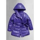 Пальто для девочки, 4 года, цвет фиолетовый GZFL371/1